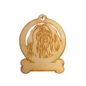 Personalized Shih Tzu Ornament