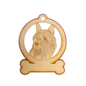 Personalized Silky Terrier Ornament