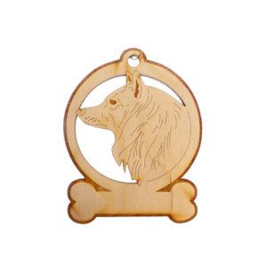 Personalized Spitz Ornament