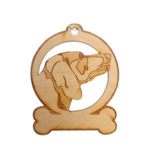 Personalized Weimaraner Ornament