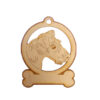 Personalized Wire Haired Terrier Ornament