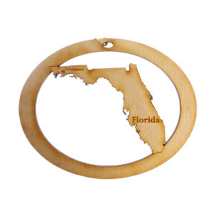 Personalized Florida Ornament