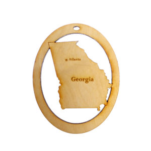 Personalized Georgia Ornament