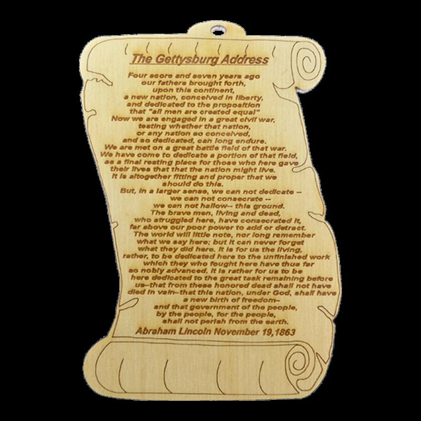 Gettysburg Address Gifts