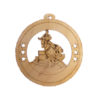 Male Barrel Racing Ornament