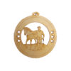 Male Equestrian Christmas Ornaments