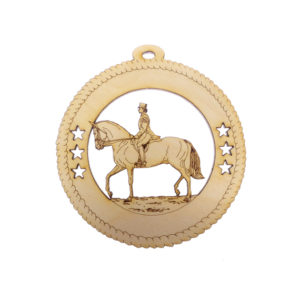 Female Dressage Ornament