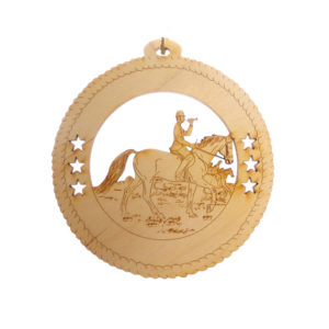 Fox Hunting Ornament