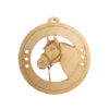 Personalized Horse Christmas Ornaments