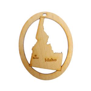 Personalized Idaho Ornament