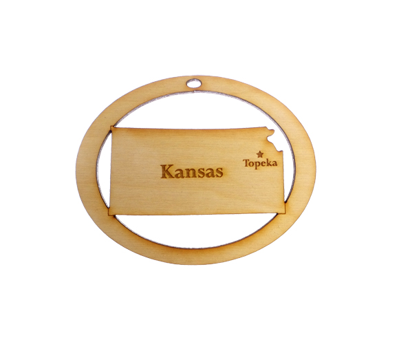 Personalized Kansas Souvenir