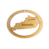 Personalized Kentucky Ornament