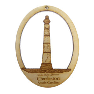 Morris Island Lighthouse Ornament