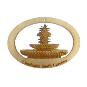 Pineapple Fountain Ornament