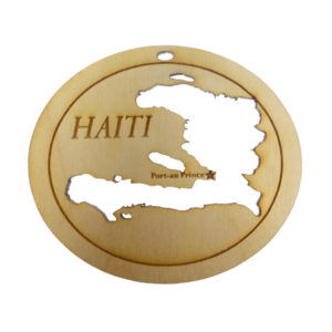 Haiti Ornament