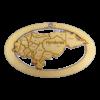 Personalized Honduras Ornament