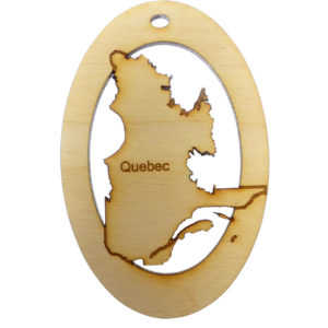 Quebec Ornament