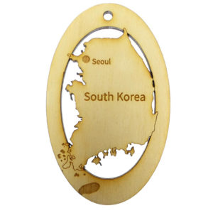 South Korea Ornament