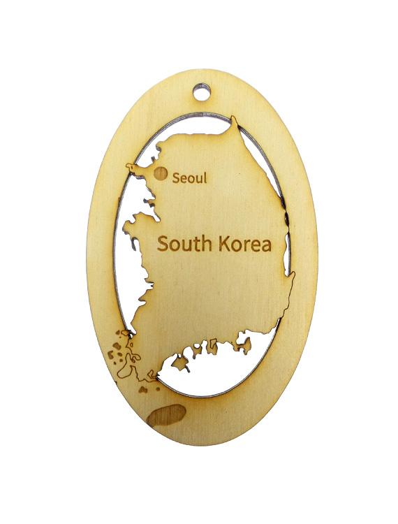 South Korea Ornament