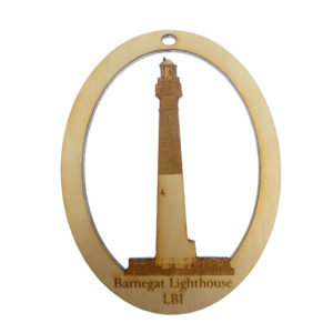 Barnegat Lighthouse LBI Ornament
