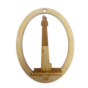 Barnegat Lighthouse LBI Ornament