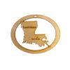 Personalized Louisiana Ornament