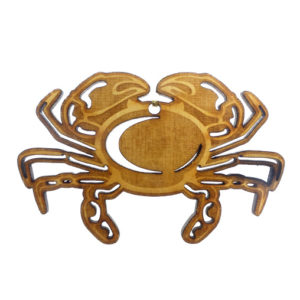 Crab ornament
