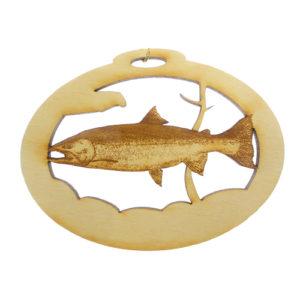 Personalized Steelhead Trout Ornament