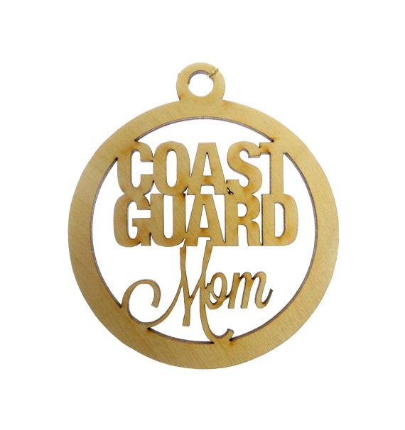 Coast Guard Mom Ornament