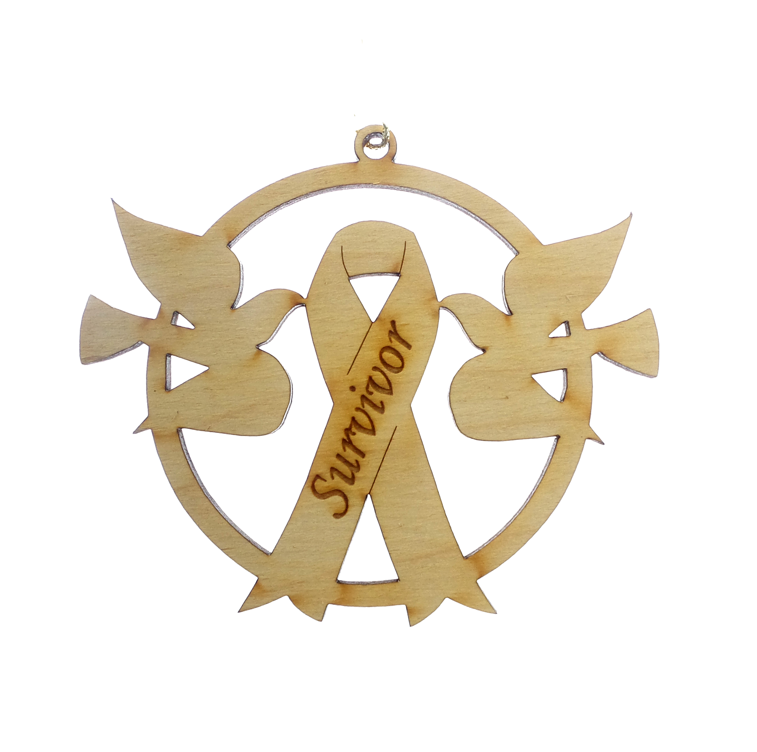 Survivor Ribbon Ornament