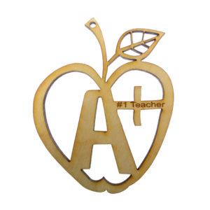 Teachers Apple Ornament