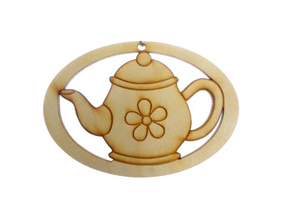 Personalized Teapot Ornament