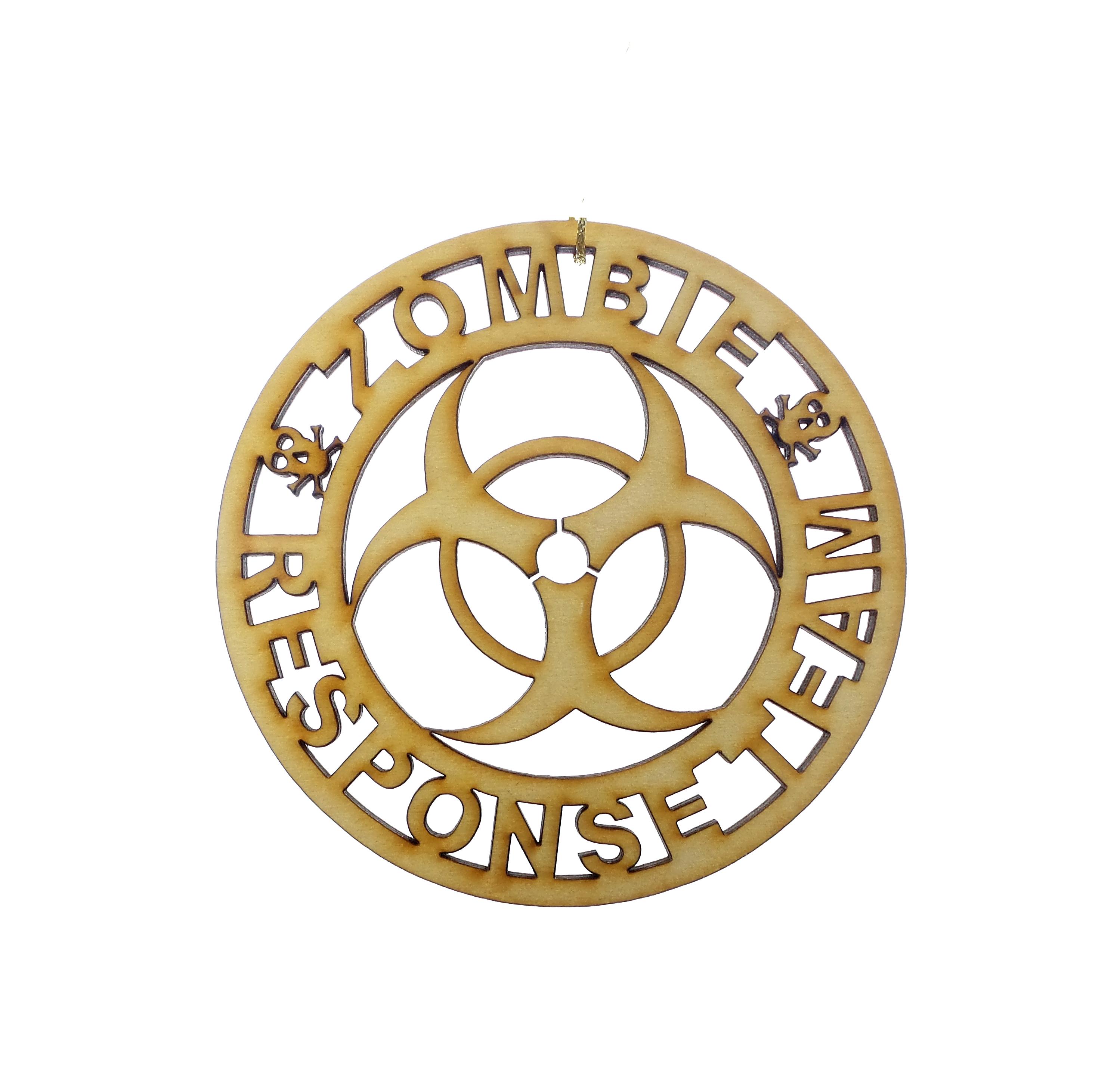Zombie Response Team Ornament