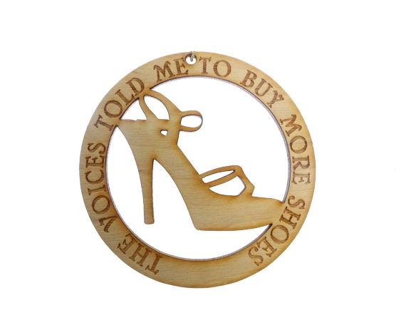 Shoe Lover Ornament