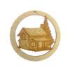 Cabin Ornament