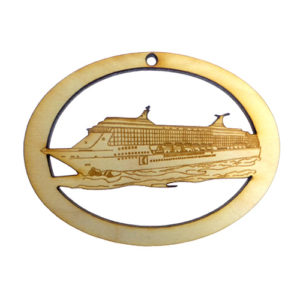 Cruise Ship Ornament