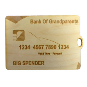 Credit Card Ornament