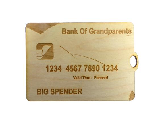 Credit Card Ornament