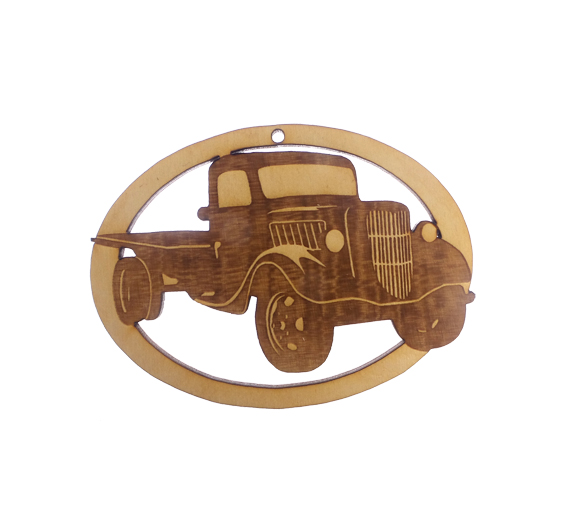 Personalized Antique Truck Ornament