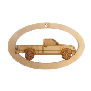 Personalized Pickup Truck Ornament