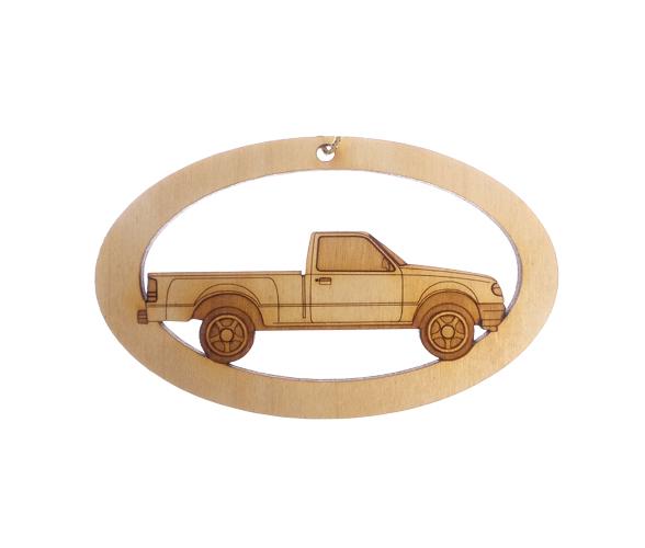 Personalized Pickup Truck Ornament