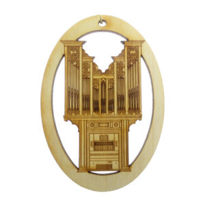 Pipe Organ Ornament