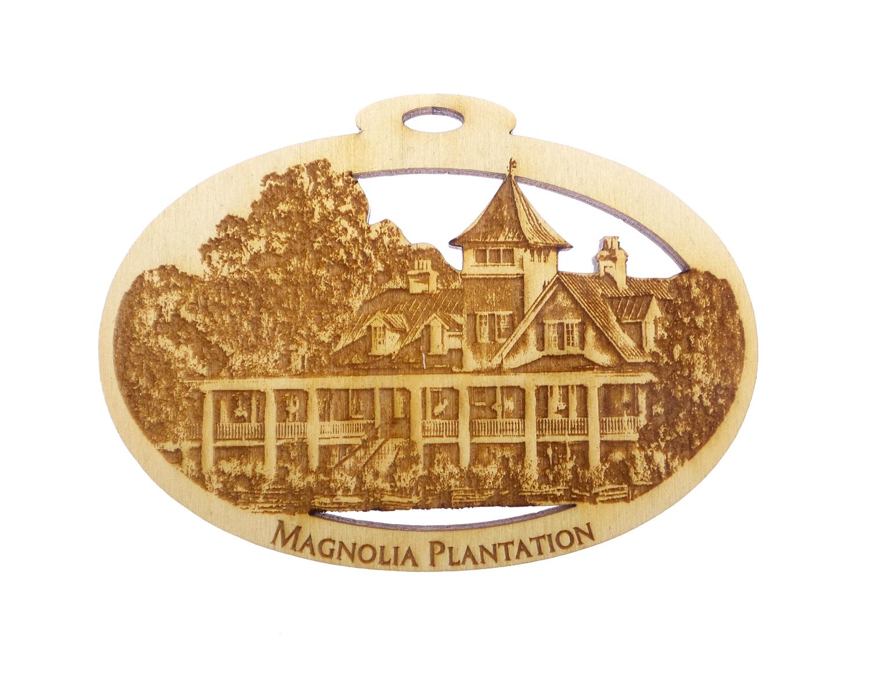 Magnolia Plantation Ornament