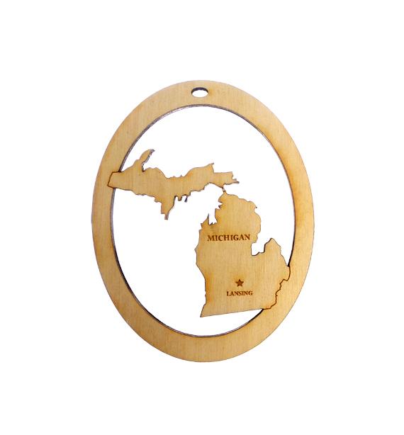 Personalized Michigan Souvenir