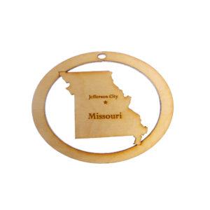 Personalized Missouri Ornament