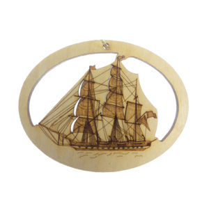 Tall Ship Ornament