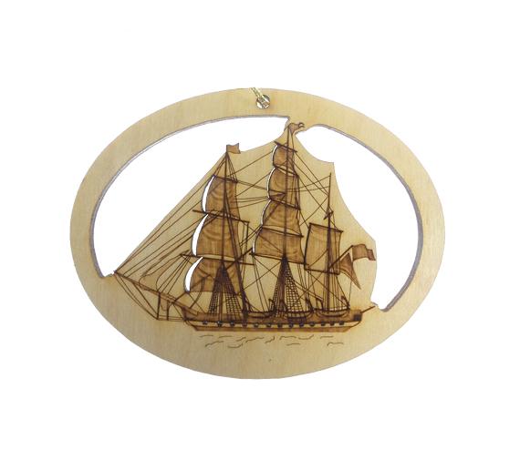 Tall Ship Ornament