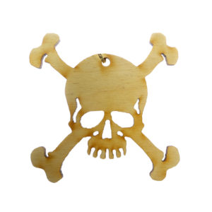 Skull Crossbones Ornament