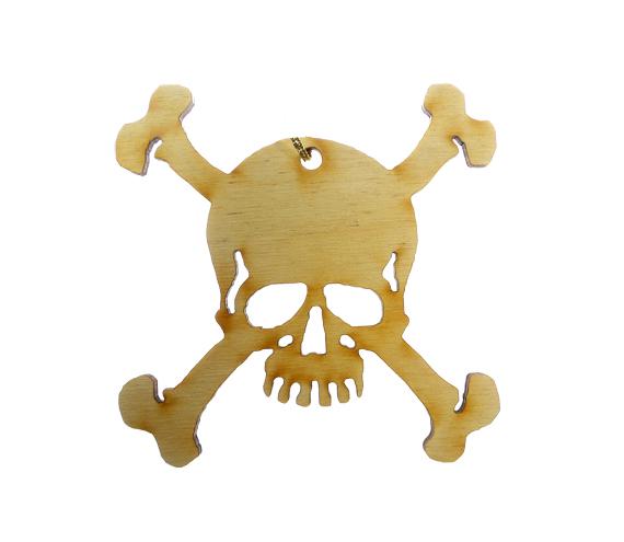 Skull Crossbones Ornament