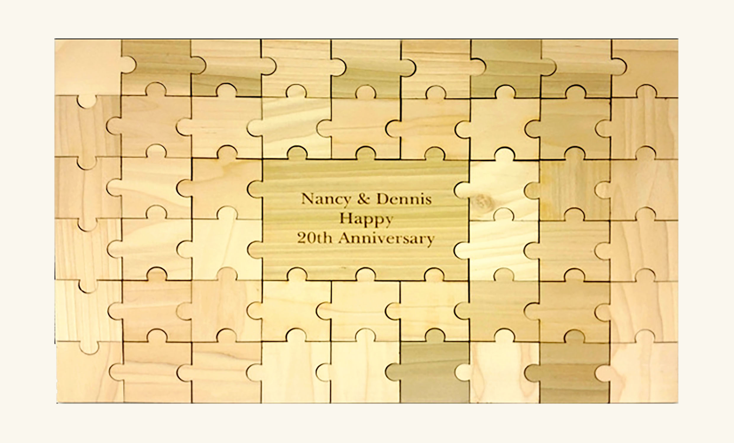 Personalized Guestbook Puzzle – 49pc
